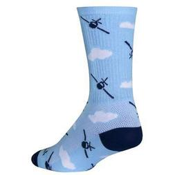 SockGuy Crew 6in Fly Boy Cycling/Running Socks