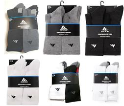 Men's Adidas 6-Pack Crew Socks, Size One Size - White