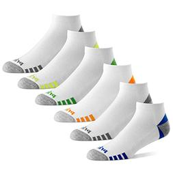 Prince Mens Low Cut Performance Socks for Running, Tennis, a