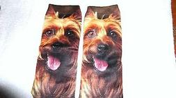 Cute Dog Socks Unisex Clothing Casual Men's Women Ankle Nove