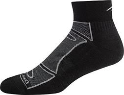Darn Tough Men's Merino Wool 1/4 Sock Light Cushion 6 Pack S