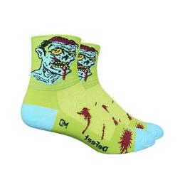 DeFeet AirEator 3in Zombie Cycling/Running Socks - AIRZOMB