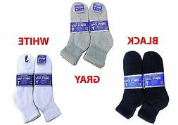 Diabetic ANKLE Socks Health Men's & Women's Cotton ALL SIZ