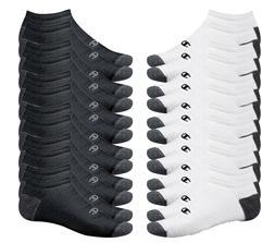 Champion Double Dry Performance Men's Black No-Show Socks 12