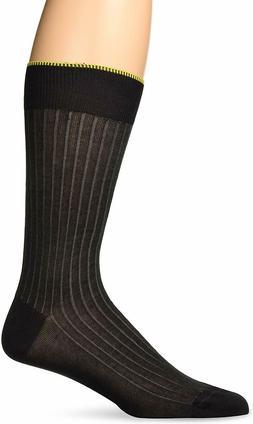 Zanella Dress Socks Vertical Ribbed Made in Italy Z9022, Gre