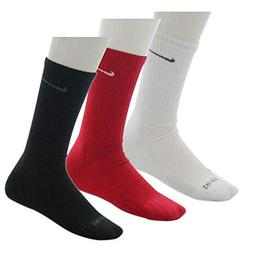 Nike Men's Dri-Fit Cotton Cushioned Socks Medium