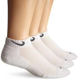 Nike Dri-Fit Cushion Low Cut Ankle Socks  White SX4829-101 S