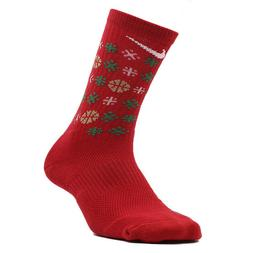 NIKE Dri-Fit Elite Holiday Basketball Crew Socks Men X-Large