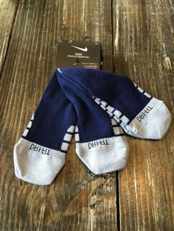 NIKE DRI-FIT PGA Golf Lightweight No-Show Socks 3 Pack Size