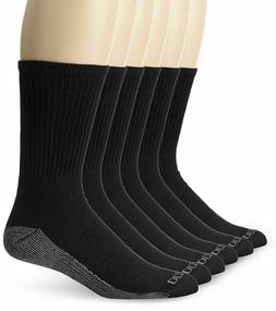 Dickies Men's Multi-Pack Dri-Tech Moisture Control Crew Sock