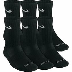 Nike Dry Cushioned Training Dri-Fit Crew Socks Black SX4445-