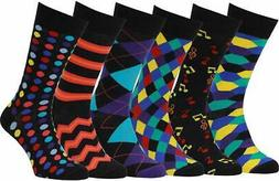 Easton Marlowe Mens Dress Socks - Colorful Fun Socks for Men
