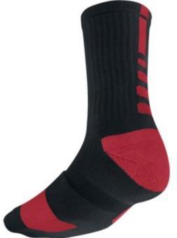 Nike Elite Crew Sock Red/Black L