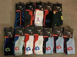 Nike Elite Cushioned Basketball Socks - Crew Kevin Durant Qu