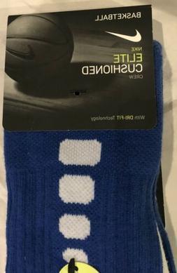 Nike Elite Cushioned Basketball Socks Youth 3Y-5Y Women's 4-