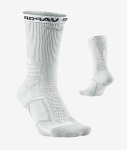 Nike Elite Vapor Baseball Socks, Men's Shoe 12-15, White Cre