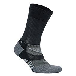 Balega Enduro V-Tech Crew Socks For Men and Women  , Black/G