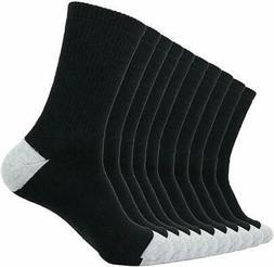 Enerwear 10P Pack Men's Cotton Moisture Wicking Extra Heavy