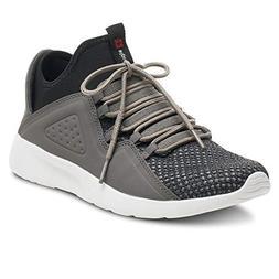 alpine swiss Enzo Mens Fashion Sneakers Lightweight Knit Lac