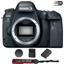Canon EOS 6D Mark II Digital SLR Camera Body – Wi-Fi Enabl