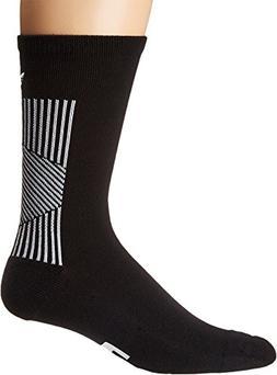 adidas Originals Men's EQT II Single Crew Sock Black/White 1