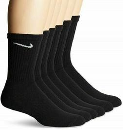 Nike Everyday Plus 6-Pair Pack Crew Cotton Cushioned Dri-Fit