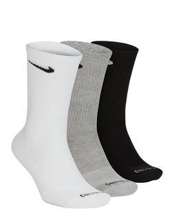 Nike Everyday Plus Dri-Fit Cushion Training Crew Socks    Si