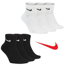 Nike Everyday Quarter Cushion Ankle Training Socks 3 Pairs P