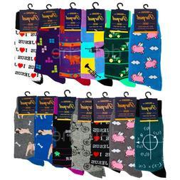 Fashion Novelty Funny Unisex Socks Size 10-13 Men Shoe 6-12.