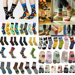 Fashion Unisex Casual Cotton Multi-Color Socks Hosiery Dress