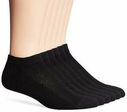 Hanes Men's FreshIQ X-Temp Comfort Cool No Show Socks 6-Pack