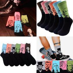 Funny Mens Novelty Presidents/Big Guy Dress Socks - Hsell Fu