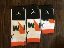 Jordan Gatorade Like Mike Crew Socks Size S-XL NWT 100% Auth