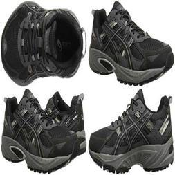 NEW Premium ASICS Mens Gel Venture 5 Running Shoe Black/Onyx