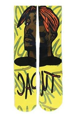 Gmart - Tupac Yellow Socks - Unisex - One Size