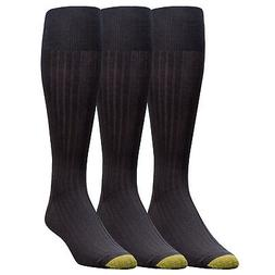 Gold Toe Men's Premium Over the Calf Canterbury Dress Socks