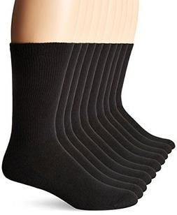 Hanes Men's 10-Pack Ultimate FreshIQ Cushion Crew Socks
