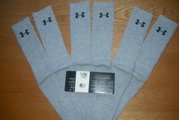 Under Armour Boys Heatgear Tech Crew Socks,3- Pairs BLACK LA