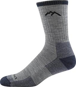Darn Tough Hiker Micro Crew Cushion Socks Men Light Gray Med