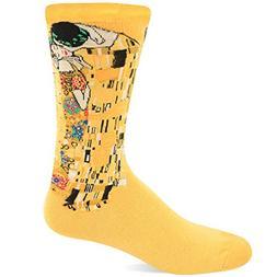 Hot Sox Men's Famous Artist Series Novelty Crew Socks, The K