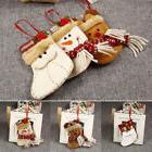 0D6F Christmas Gift Treat Candy Socks Bag Xmas Tree Hanging