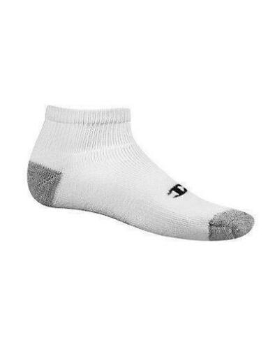 12-Pairs Champion Double Dry Performance Men's Quarter Socks