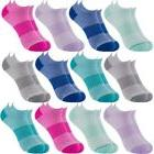 12 Pairs Sof Sole Women's No Show Athletic Performance Soc