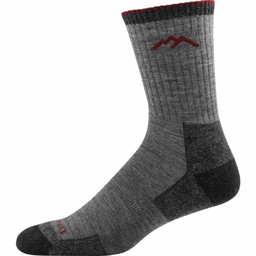 1466 charcoal merino wool mens socks hike