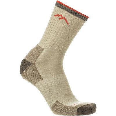 1466 oatmeal merino wool mens hiker socks