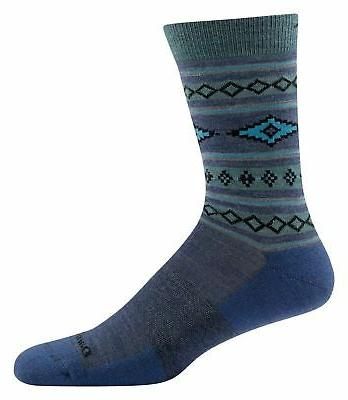 Darn Tough 1658 Men's Santa Fe Crew Light Cushion Dress Sock