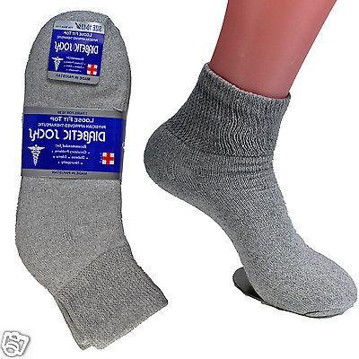 3-12 Quarter Crew Socks Cotton Circulatory
