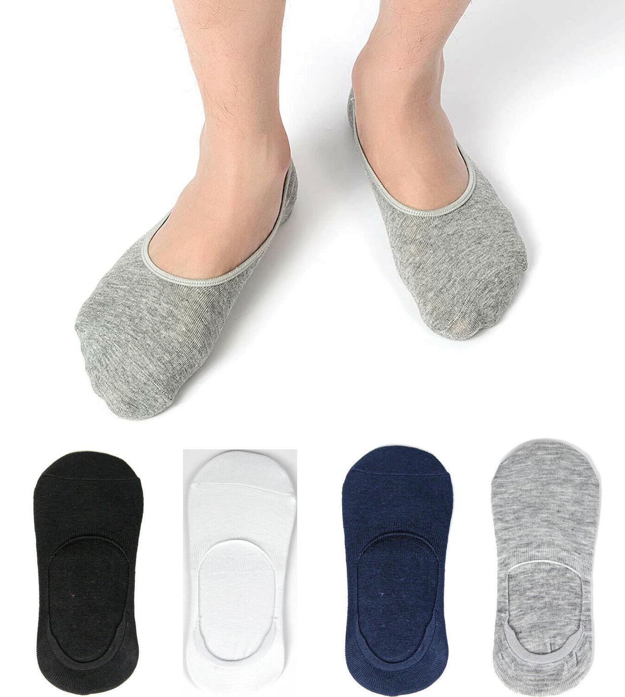 Men Women Invisible No Show Socks Cotton Loafer Non Boat