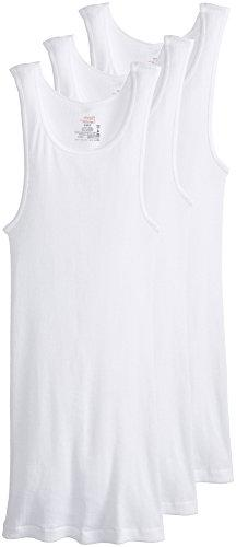 3 Pack: Hanes 100% Cotton ComfortSoft Tagless Men's Tank Top