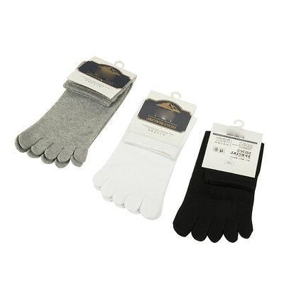 3 Stretch Socks Five Toe Socks